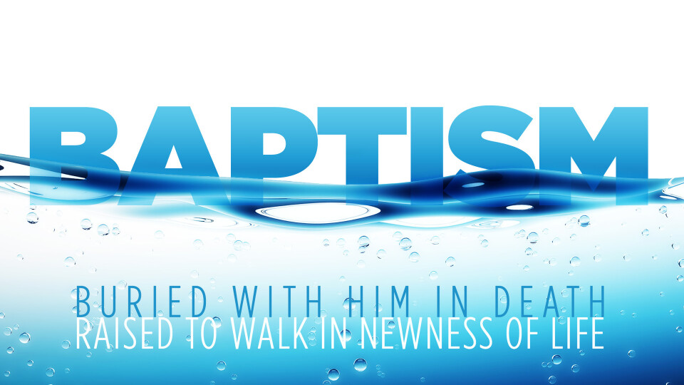 Annual Baptism and Picnic 5:00pm